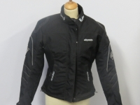Ladies cordurra jacket - black