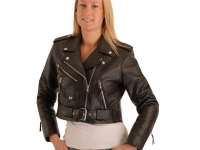 Ladies-  cropped biker