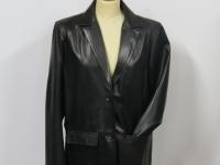 "ladies 3058 ""classic"" 2 button blazer A1 soft black nappa leather"