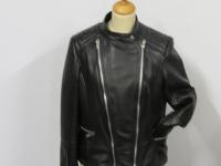 ladies bikers stlye 6526 soft nappa leather