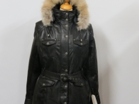 """Ladies """"hooded"""" D115 A1 grade soft nappa leather available in sizes 10 to 18"""