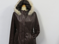 ladies celia6 brown A1 soft nappa leather available in brown (pictured) or black.