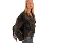 Ladies tassled jacket with braiding.