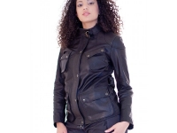 Ladies 3/4L Biker jacket