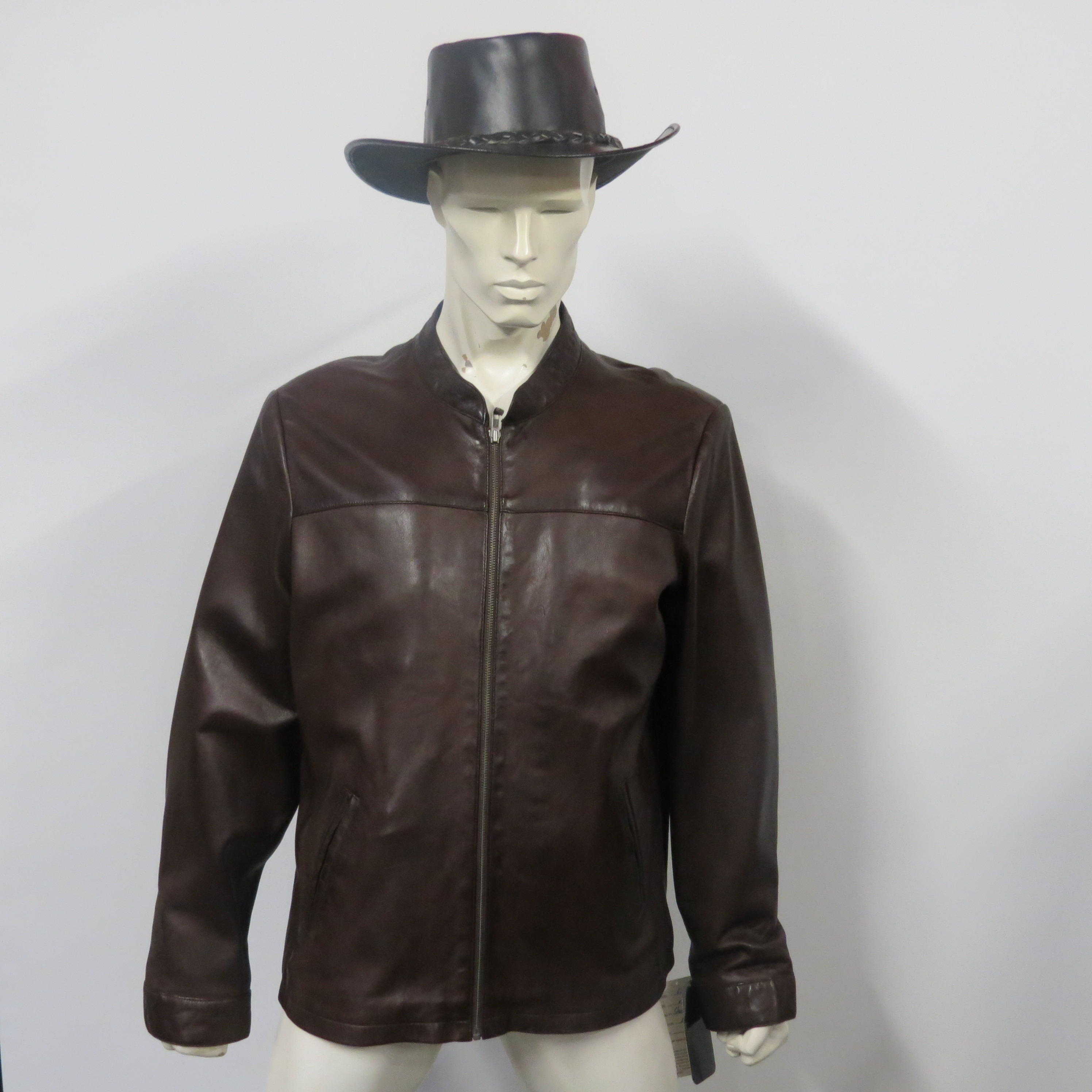Mens 639 A1 grade soft nappa leather, available in Black or brown (pictured) sizes small to 5XL