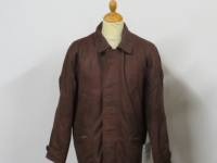 Mens 1439 3/4 length brown soft buff leather, sizes small to 3XL.