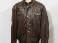 Mens  61114 A1 grade soft brown (pictured) or black nappa leather, sizes small to 4XL.