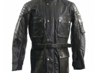 "Gents 3/4 length ""classic look"" biker style £195.00"