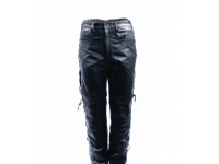 "Mens Leather Trousers Laced from £79.00, Black Sizes 30""-44"""